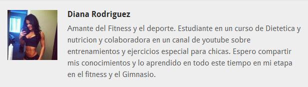 Diana Rodriguez equipo fitnessrevista