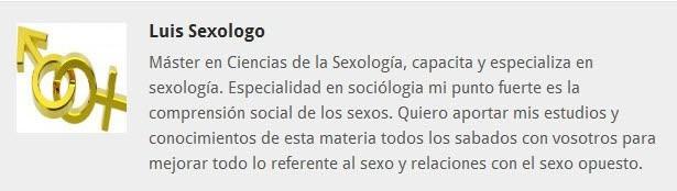 Luis Sexologo equipo fitnessrevista