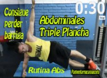 3 videos de rutina abdominal para perder barriga