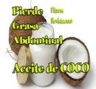 Aceite de Coco para perder Peso