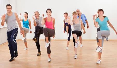 quemar calorias con el aerobic