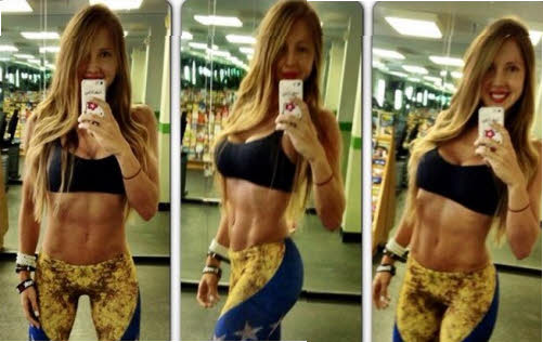 sasha fitness imagenes