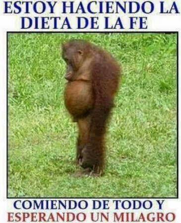 dieta de la fe