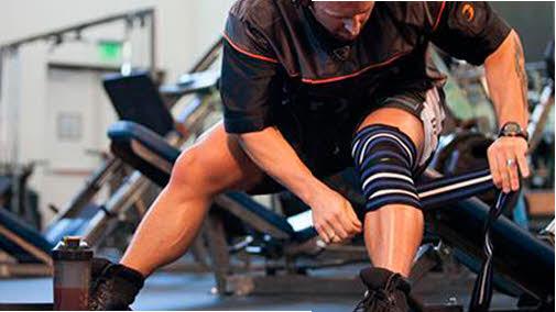 rodilleras en el gym