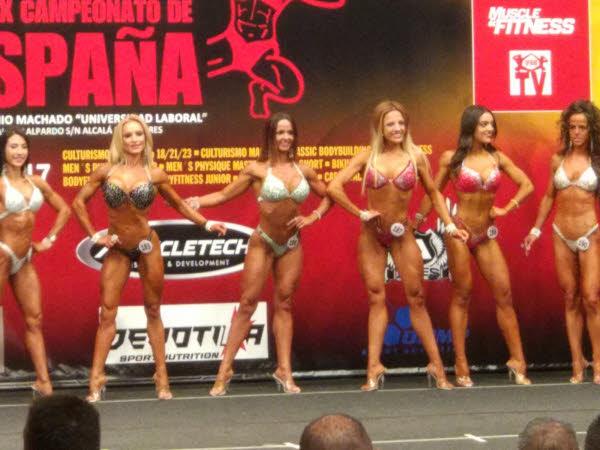 Janet Arias Coto competidora fitness