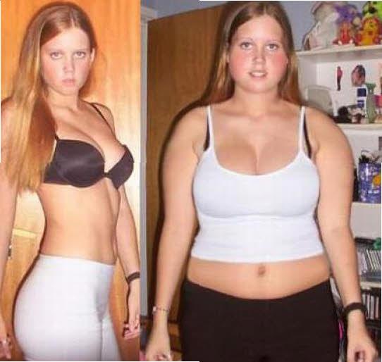 de gorda a chica fitness