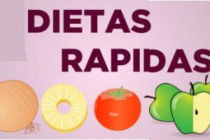 Dietas rapidas