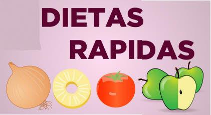 Dietas rapidas de hacer