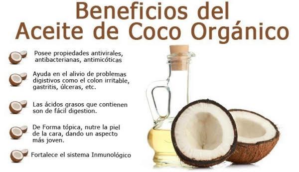 aceite de coco propiedades