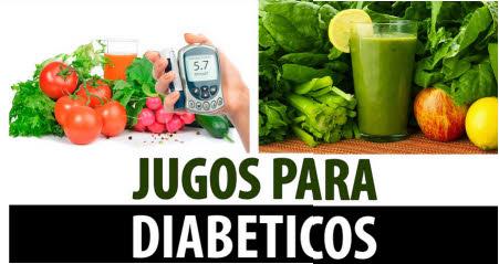 jugos para personas con diabetes