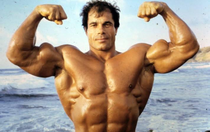 franco columbu biceps