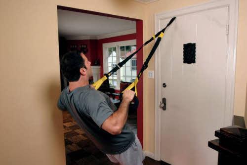 Como hacer un entrenamiento TRX en casa