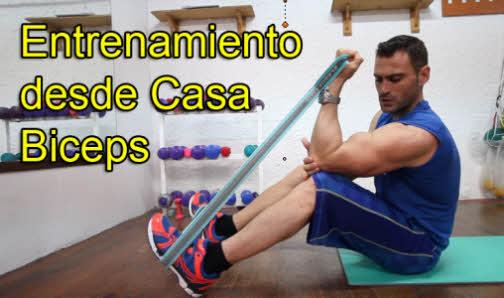Entrenamiento de Biceps para casa
