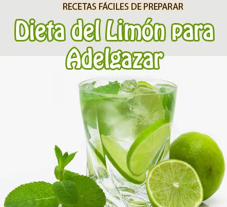 la dieta del limon para adelgazar