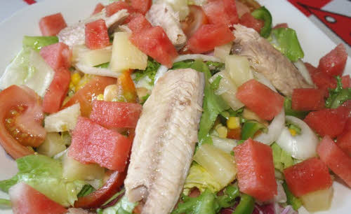 ensalada saludables con atun
