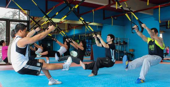 entrenamiento en suspension trx