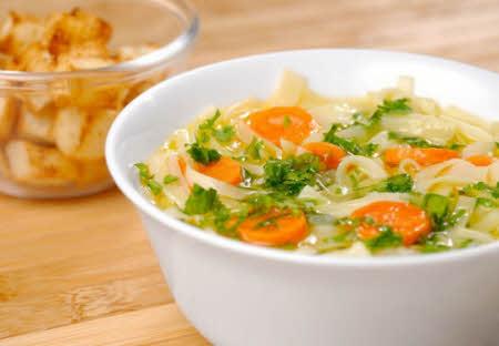 como bajar de peso con sopa de verduras