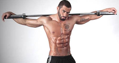 Lazar Angelov abdominales