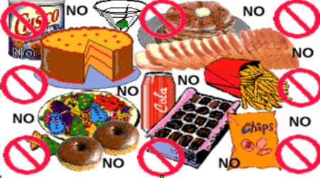 carhobidratos prohibidos en dieta