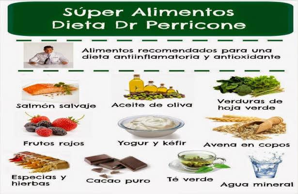super alimentos dieta perricone