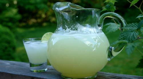 agua con limon para adelgazar