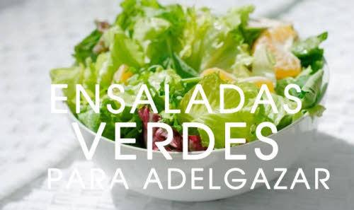 como adelgazar con ensaladas