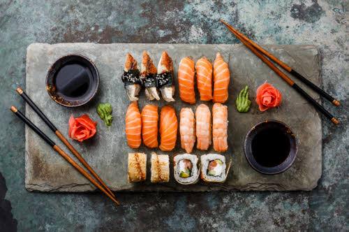 cuales son los beneficios del sushi