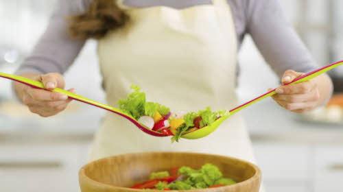 ensaladas de verduras para bajar de peso
