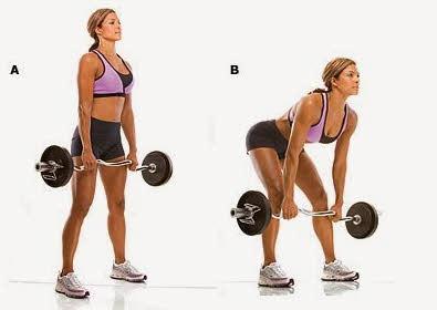 peso muerto chicas fitness