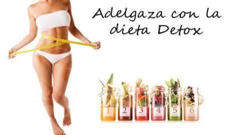 adelgaza con la dieta detox