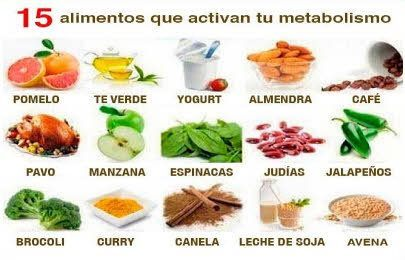 Alimentos para adelgazar sin dietas