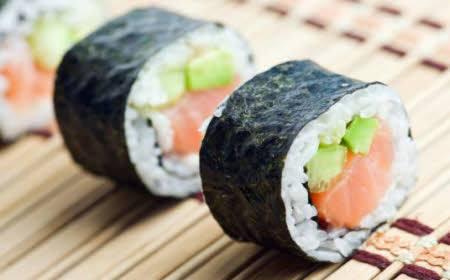 Incluye el sushi en la dieta