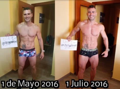 Como aumentar masa muscular hasta 3 kilos en 60 dias