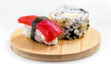 sushi alimentos saludables