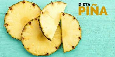 Dieta de la piña pierde 4 kilos en 2 días