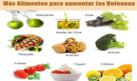Alimentos que harán prevenir un resfriado