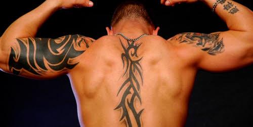 Tatuajes en el fitness en hombres