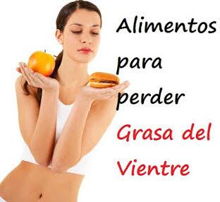 Alimentos para perder grasa del vientre