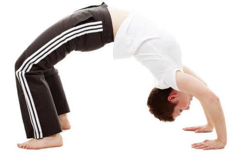 flexibilidad en el cuerpo