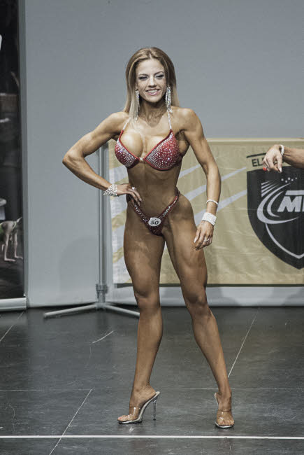 Janet Arias Coto bikini fitness