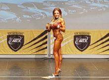 Janet Arias Coto campeona bikini fitness principal