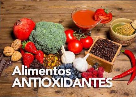 alimentos antioxidantes importancia