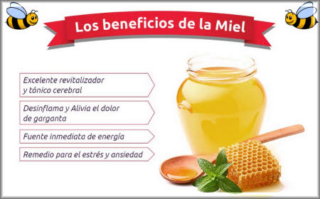 beneficios de la miel